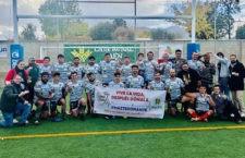 Gran acogida de la iniciativa solidaria. Foto: Jaén Rugby.
