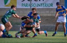 Partido de alto voltaje para el XV jiennense. Foto: Jaén Rugby.