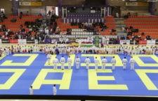 El Trofeo de Navidad de Judo 'Ciudad de Jaén' congregó a casi 600 deportistas