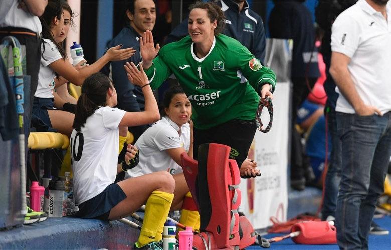 La jugadora jiennense, entre las mejores del mundo. Foto: Twitter @maruiz18