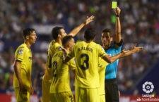 El colegiado jiennense arbitrará el partido entre madrileños y navarros. Foto: La Liga.