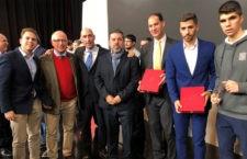 Reconocimientos para el Jaén FS. Foto: Jaén FS.
