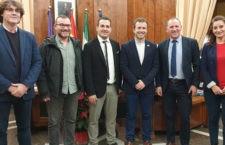 Acuerdo entre instituciones. Foto: Ayto. Jaén.