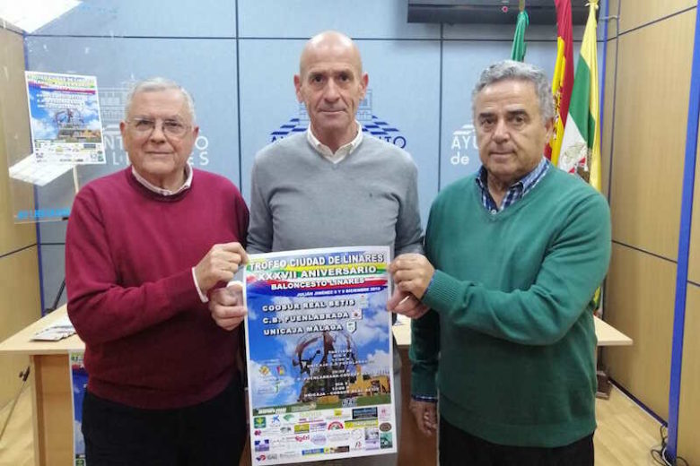Real Betis, CB Fuenlabrada y Unicaja Málaga participan en el Trofeo Ciudad de Linares