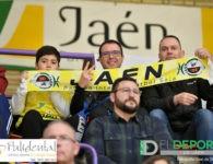 La afición en La Salobreja (Jaén FS-FC Barcelona)