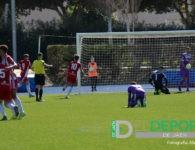 El Real Jaén cae en Almería tras ir venciendo 0-2