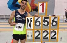 Carlos Rojas bate el récord andaluz de salto de altura en pista cubierta
