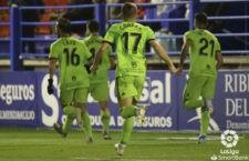 El Almería de Corpas, líder. Foto: La Liga.