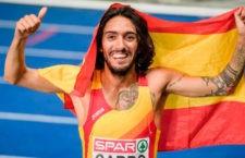El madrileño es subcampeón de Europa. Foto: Telemadrid.