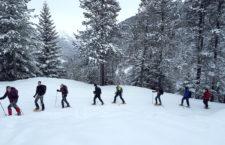 Actividades de alta montaña, nieve y alpinismo son las nuevas propuestas de la UJA