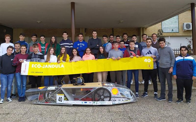 El IES Jándula de Andújar, único representante andaluz en la Shell Eco-maratón Europe 2020
