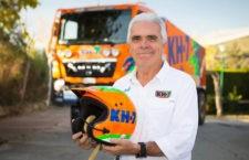 José Luis Criado, el jiennense con más participaciones en el Dakar