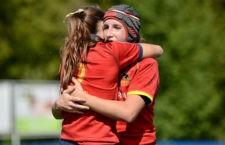 Gran noticia para la joven jugadora del Jaén Rugby. Foto: Rugby Spain.
