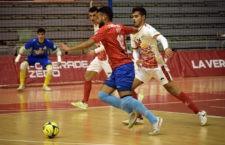 El Mengíbar FS rescata en Murcia un punto en los últimos instantes