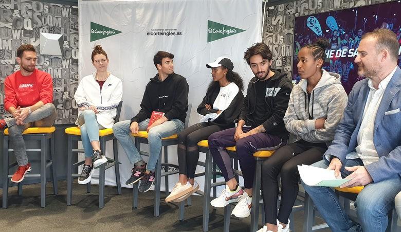 Los atletas de élite, expectantes ante la Carrera de San Antón