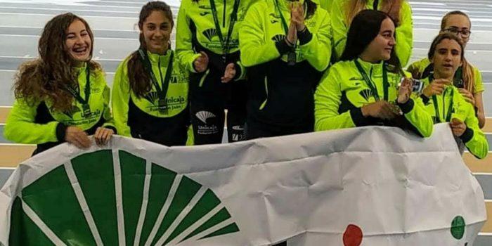 Arranca la temporada de pista cubierta para el equipo femenino del Unicaja Jaén