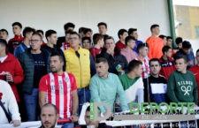 La afición en San Benito (Atlético Porcuna – Linares Deportivo)