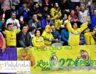 La afición en La Salobreja (Jaén FS 2-1 Cartagena)