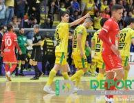 Remontada del Jaén FS ante Cartagena para afianzarse en el playoff