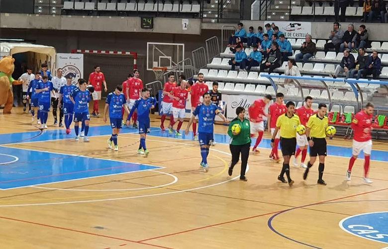 El Mengíbar FS sale derrotado de su visita a Bisontes Castellón