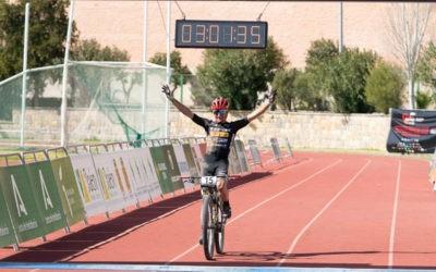 Protagonismo para Jaén en la segunda etapa. Foto: Andalucía Bike Race.
