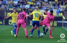 Ismael casas, titular en el Málaga. Foto: La Liga.