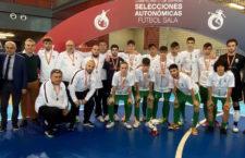 Ordóñez y Luque, del Jaén FS, subcampeones de España con la Selección Andaluza Sub-19