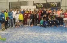 El Provincial de Padel Menores y Veteranos reunió a más de 140 participantes