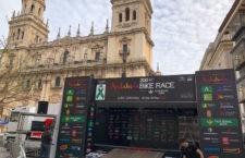 La capital acogió dos etapas. Foto: Patronato Deportes Jaén.