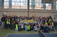 El Hujase Jaén reunió a unos 50 deportistas en un triangular inclusivo