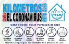ALES Jaén lanza un reto deportivo solidario para comprar mascarillas y guantes