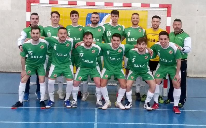 equipo de la universidad de jaén de fútbol sala