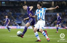 Moyano repitió en el once inicial. Foto: La Liga.