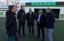 Últimos pasos en la ejecución de la adecuación. Foto: Diputación de Jaén