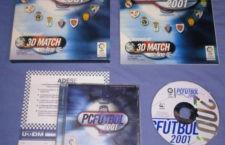 Los equipos jiennenses en el PC Fútbol 2001