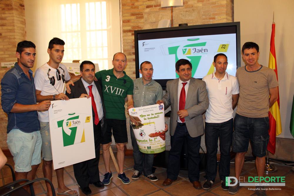 El fútbol sala de la capital pasa a denominarse 'Jaén, Paraíso Interior F.S.'