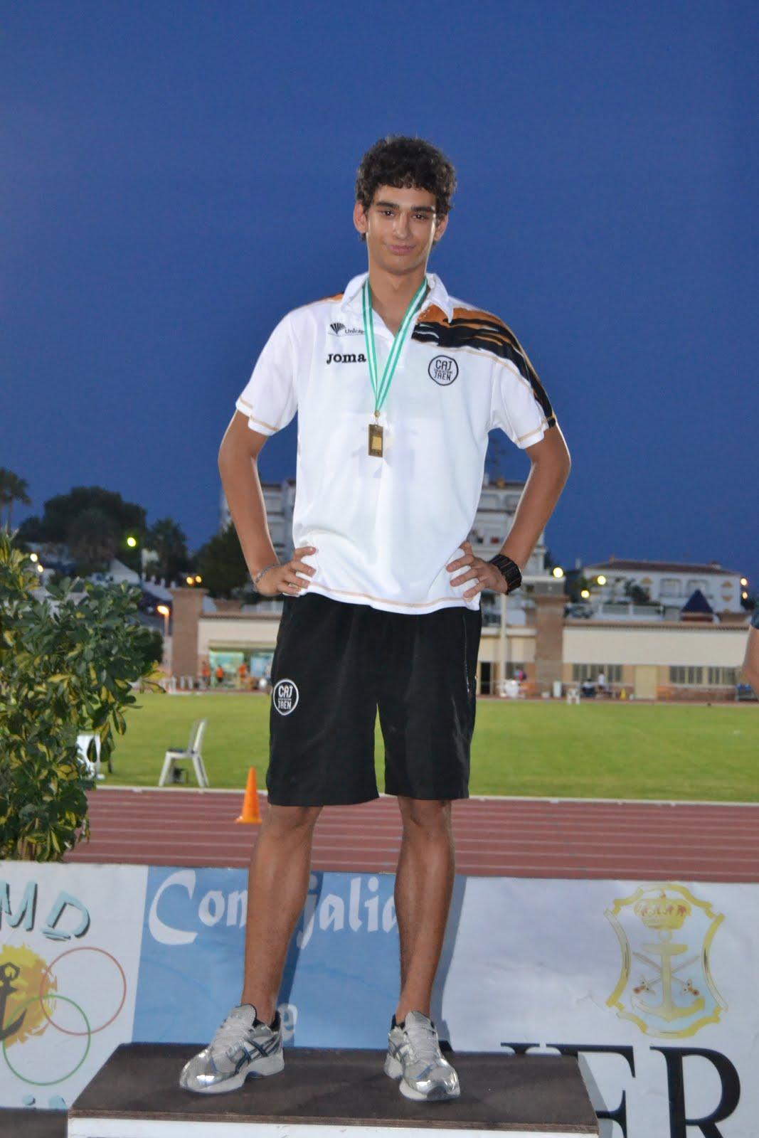 Tres platas para el Unicaja Atletismo en el Campeonato Nacional Junior