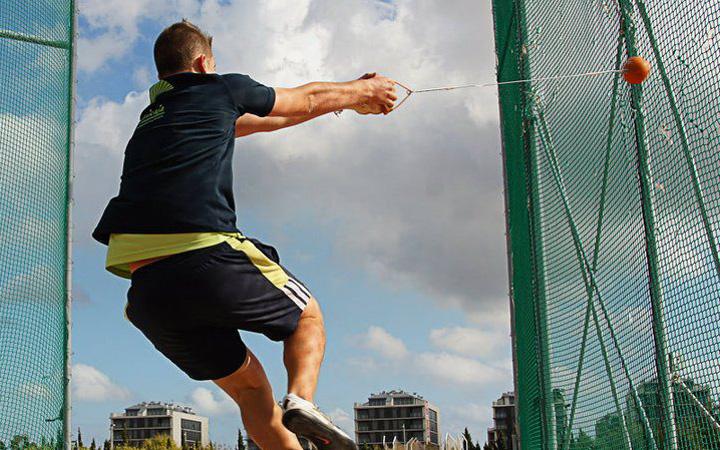 Pablo González superó su marca personal en Rieti