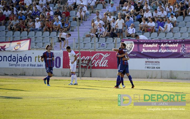 El Real Jaén sigue sin balas (R.Jaén 1-2 Eibar)
