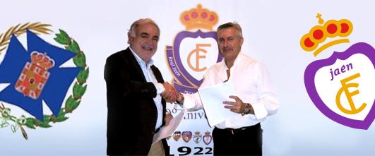 Convenio entre el Real Jaén y el Colegio de Enfermería