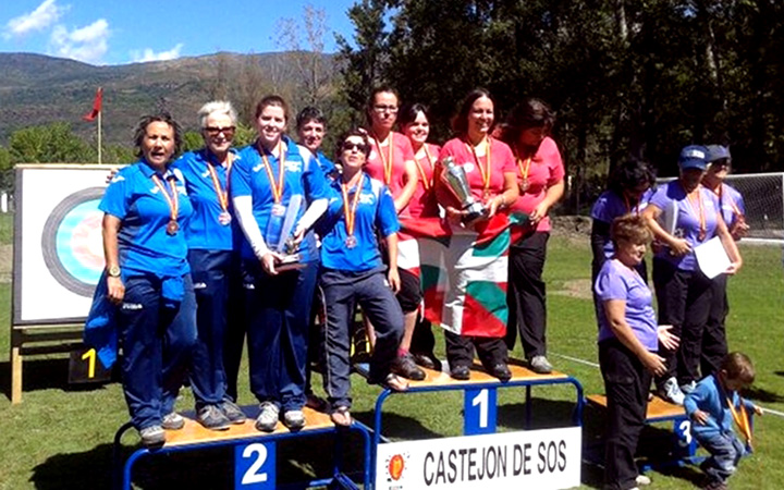 Arcosur, subcampeón en el Campeonato de España de tiro con arco