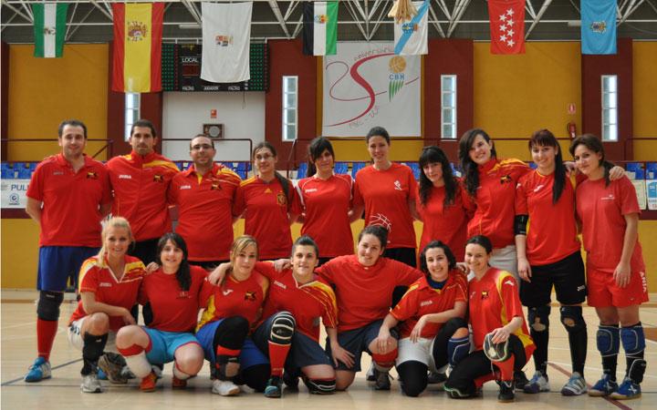 La Selección Española de Kin-Ball viaja al Mundial de Bélgica con acento jiennense