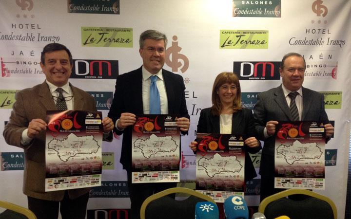 Jaén y La Guardia serán escenarios de la Vuelta Ciclista a Andalucía