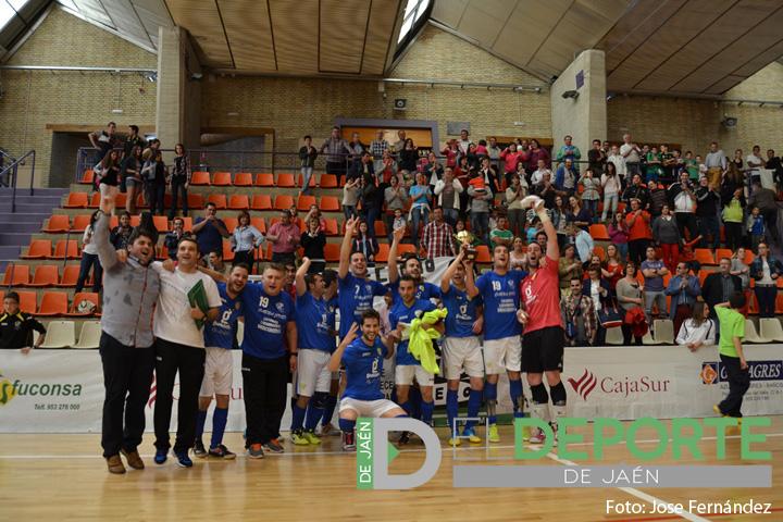 CD Cabra Joven FS logra el título de campeón de la Preferente Senior de fútbol sala