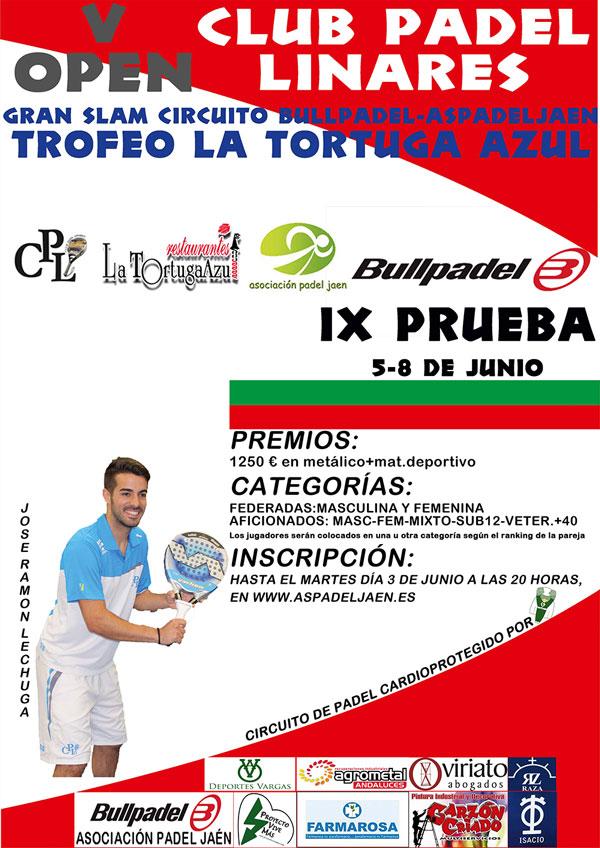 Linares acogerá el V Trofeo Tortuga Azul de pádel