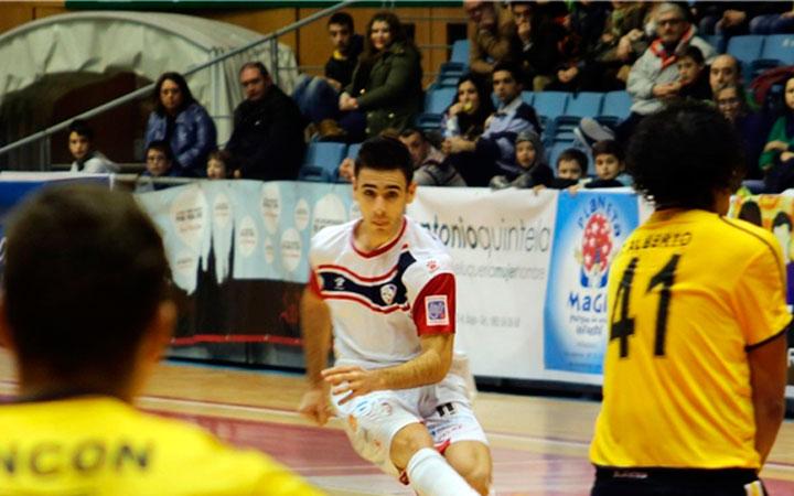 El Jaén FS ficha al jugador gaditano Eloy Rojas