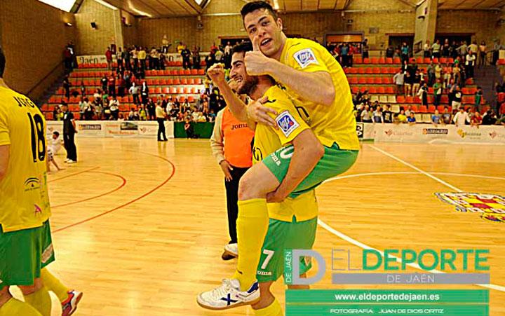 Emilio Buendía y Víctor Montes renuevan con el Jaén FS