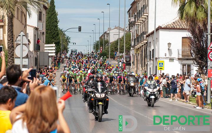 Baeza fue punto de partida para la octava jornada de la Vuelta a España