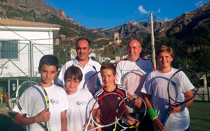 Cazorla acogió su trofeo de verano de tenis