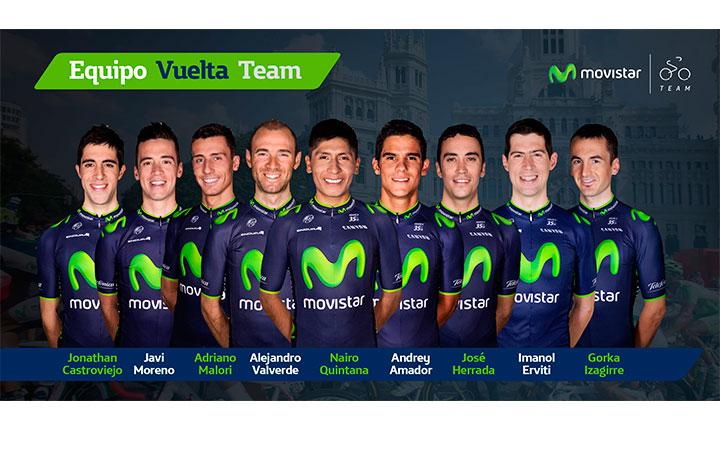 Javi Moreno correrá la Vuelta a España con el Movistar Team